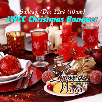 lwcc Christmas banquet Service