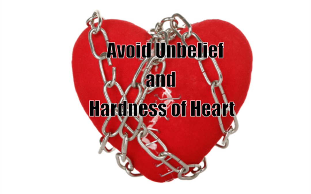 #5 – Avoid Unbelief and Hardness of Heart