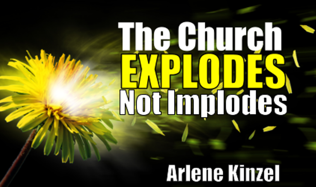 #3 – The Church Explodes Not Implodes